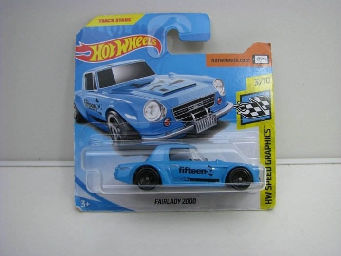 Nissan Fairlady 2000 Blue Hot Wheels Speed Graphics-2018-FJW43